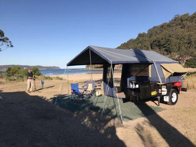 Escape camper trailer umina beach