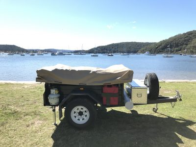 Escape with Deluxe Pack on an Off Road trailer